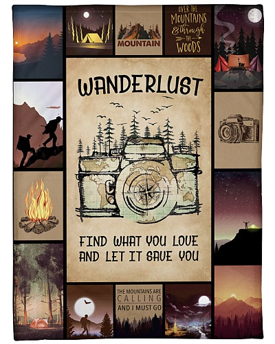 Wanderlust - find what you love and let it save yo