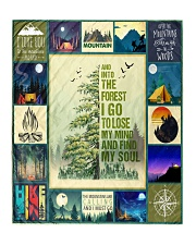 """And Into the forest i go   Quilt 50""""x60"""" - Throw front"""