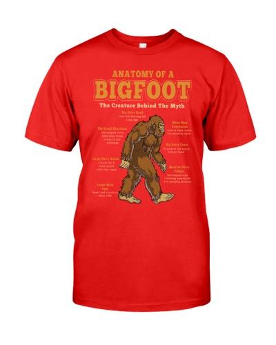 Anatomy of a  bigfoot