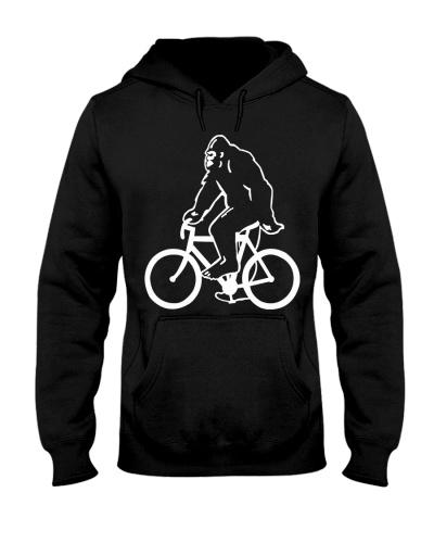 BIGFOOT RIDING BICYCLE