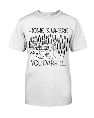 Home is where you park it - Perfect Halloween gift