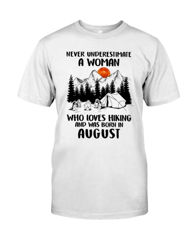 Never underestimate a woman who loves hiking