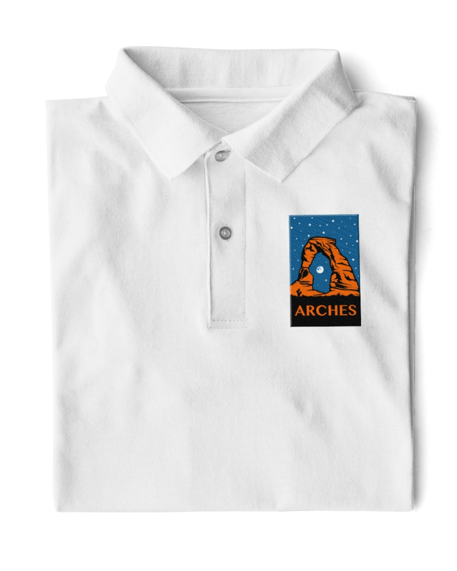 Arches National Park Classic Polo