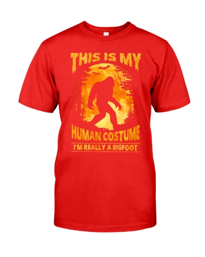 This is my human costume i'm really a bigfoot