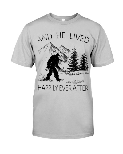 AND HE LIVED HAPPILY EVER AFTER