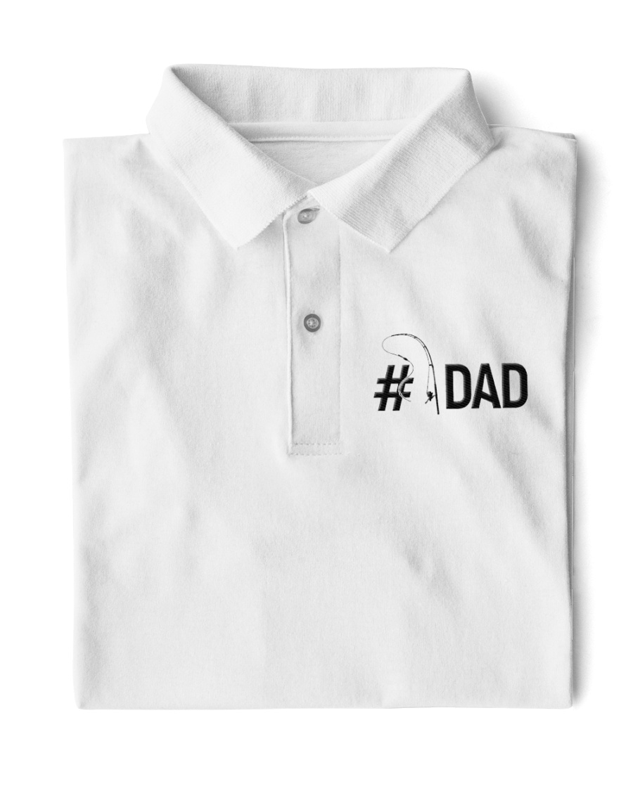 Fishing dad Classic Polo