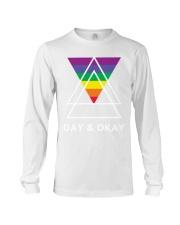 Gay and Okay Long Sleeve Tee thumbnail