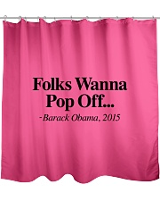 Folks  Shower Curtain front