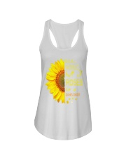 In a world full of roses be a sunflower t shirt Ladies Flowy Tank thumbnail