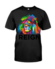 Lion Reign Bold Back To School Premium Fit Mens Tee front