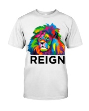 Lion Reign Bold Back To School Premium Fit Mens Tee thumbnail