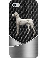 Great Dane - silver Phone Case i-phone-7-case
