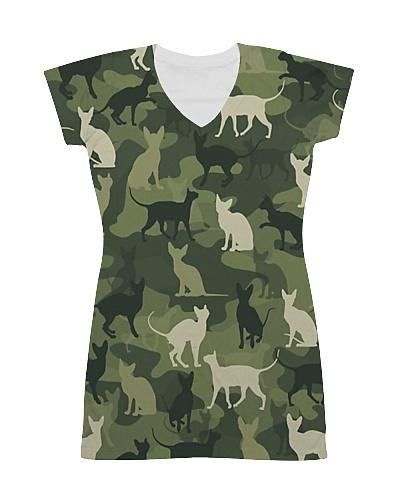 Sphynx Cat Camouflage