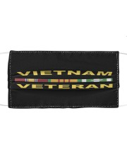 Viet Nam Veteran Hat and Face Mask Cloth face mask front