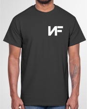 If god ain't real Classic T-Shirt garment-tshirt-unisex-front-03