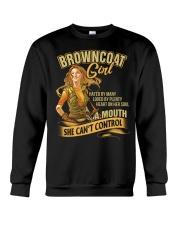Browncoat Girl Crewneck Sweatshirt thumbnail
