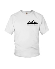 Downhill Rules Classic tee with Logo on back Youth T-Shirt thumbnail
