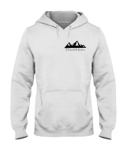 Downhill Rules Classic tee with Logo on back Hooded Sweatshirt thumbnail