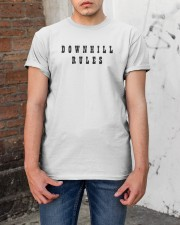 Downhill Rules Classic Classic T-Shirt apparel-classic-tshirt-lifestyle-31