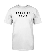 Downhill Rules Classic Classic T-Shirt front