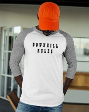 Downhill Rules Classic Baseball Tee apparel-baseball-tee-lifestyle-09