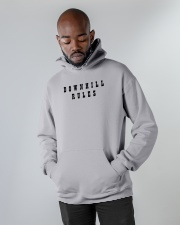 Downhill Rules Classic Hooded Sweatshirt apparel-hooded-sweatshirt-lifestyle-front-09