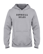 Downhill Rules Classic Hooded Sweatshirt front
