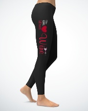 THIS GIRL LOVES WINE Ladies Leggings lifestyle-leggings-right-1