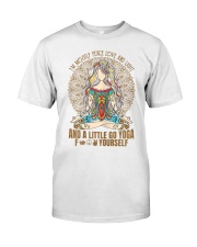 Womens im mostly peace love  Premium Fit Mens Tee thumbnail