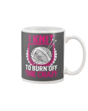I Knit To Burn Off The Crazy Mug thumbnail