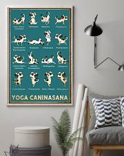 Yoga Caninasana Poster Funny Yoga Dog Poster 11x17 Poster lifestyle-poster-1