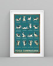 Yoga Caninasana Poster Funny Yoga Dog Poster 11x17 Poster lifestyle-poster-5