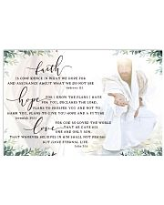 FAITH HOPE LOVE POSTER 17x11 Poster front
