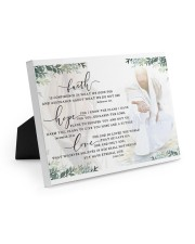 FAITH HOPE LOVE POSTER Easel-Back Gallery Wrapped Canvas tile