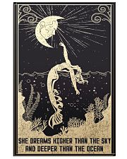 SHE DREAMS HIGHER THAN THE SKY 11x17 Poster front