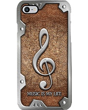 MUSIC IS MY LIFE PC Phone Case i-phone-8-case