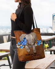 Forget Me Not Tote Bag  All-over Tote aos-all-over-tote-lifestyle-front-04