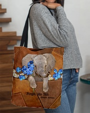 Forget Me Not Tote Bag  All-over Tote aos-all-over-tote-lifestyle-front-09