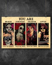 YOU ARE BRAVER THAN YOU BELIEVE POSTER 17x11 Poster aos-poster-landscape-17x11-lifestyle-12