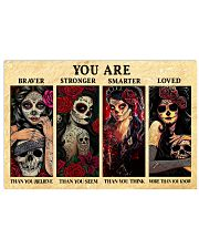 YOU ARE BRAVER THAN YOU BELIEVE POSTER 17x11 Poster front