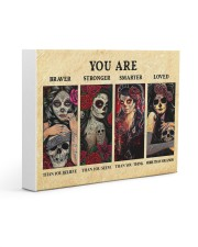 YOU ARE BRAVER THAN YOU BELIEVE POSTER Gallery Wrapped Canvas Prints tile