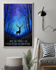 Into the forest I go camping wall art print 11x17 Poster lifestyle-poster-1