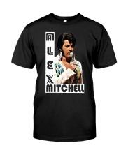 Alex Mitchell Squared Logo Shirt Classic T-Shirt front
