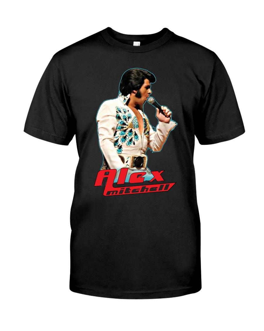 Alex Mitchell Red Logo Classic T-Shirt