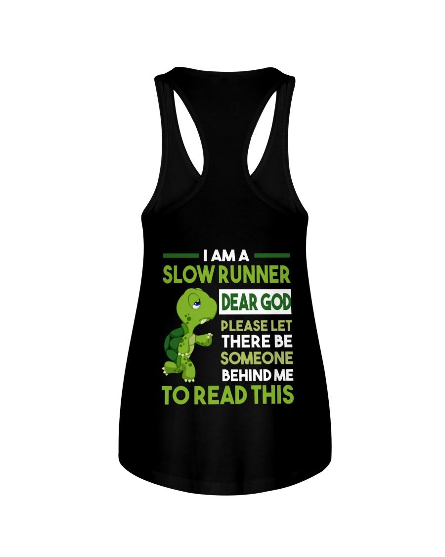 I AM SLOW RUNNER Ladies Flowy Tank