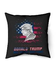 """donald trump Indoor Pillow - 16"""" x 16"""" thumbnail"""