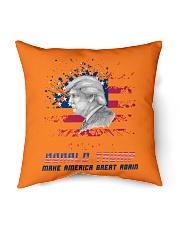 """donald trump Indoor Pillow - 16"""" x 16"""" front"""