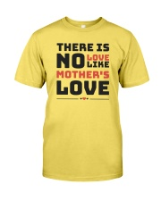 There is no love like mother's love Premium Fit Mens Tee front
