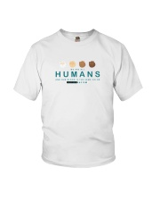 We are all Humans Youth T-Shirt thumbnail