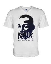 Martin Luther King Jr Day V-Neck T-Shirt thumbnail